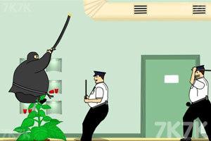 《胖忍者打保安》游戏画面7