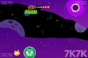 《炮打愤怒小鸟4太空版》游戏画面7