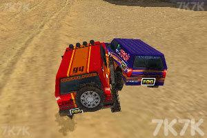 《3D峡谷四驱车》游戏画面8