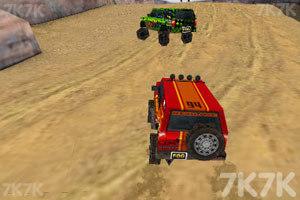 《3D峡谷四驱车》游戏画面6