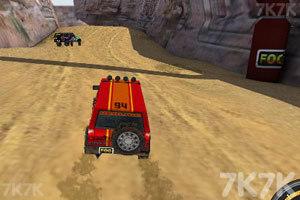《3D峡谷四驱车》截图1