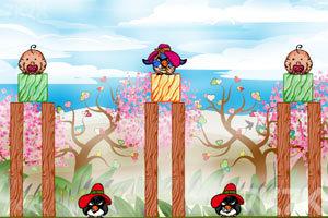 《不愤怒的小鸟情人节版》游戏画面9
