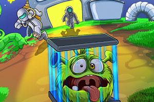 《跳吧!外星小毛球》游戏画面1
