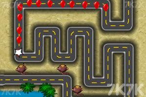 《小猴子守城4V1.26版》游戏画面1