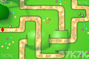 《小猴子守城4V1.26版》游戏画面4