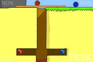《小球找钻石》游戏画面6