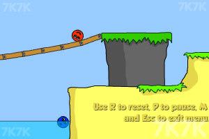 《小球找钻石》游戏画面2