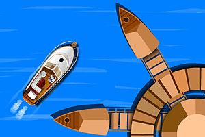 《经典小船停靠》游戏画面1