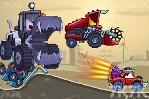 《大車吃小車2無敵版》游戲畫面1
