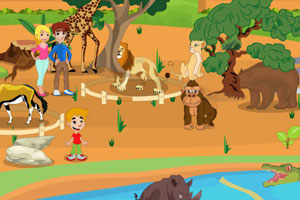 《动物园随心布置》游戏画面1