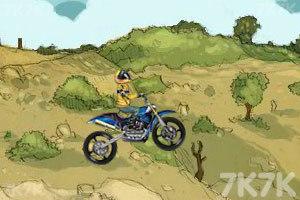 《摩托特技越野赛》游戏画面4
