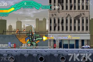 《疯狂机械人》游戏画面2