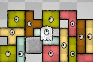 《幽灵方块》游戏画面1