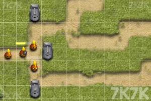 《复活节岛塔防》游戏画面2