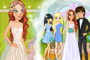 《时尚新娘穿婚纱》游戏画面1