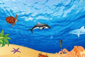 《布置海底世界》游戏画面1