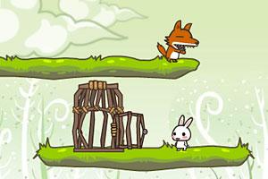 小兔子诱引大灰狼
