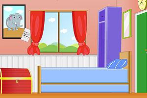 《逃出小男孩卧室》游戏画面1