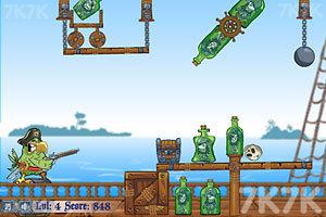 《愤怒的鹦鹉海盗》游戏画面1