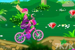 《芭比骑自行车》游戏画面6