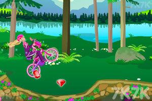 《芭比骑自行车》游戏画面9