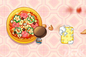 《可爱餐厅清洁工》游戏画面1