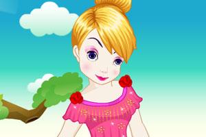 《小仙女做发型》游戏画面1