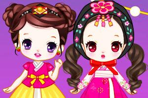 《樱桃公主庆中秋》游戏画面1