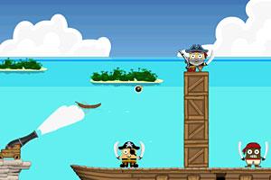 《炮打海盗无敌版》截图1