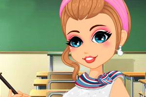 可爱老师回学校