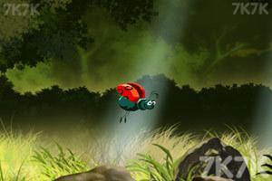 《蜘蛛捕食》游戏画面2