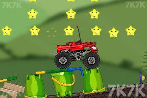 《玩具卡车破坏之路》游戏画面5