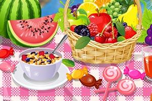 《夏日野餐布置》游戏画面1