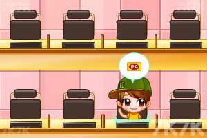 《可爱美眉开网吧》游戏画面2