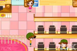 《可爱美眉开网吧》游戏画面3