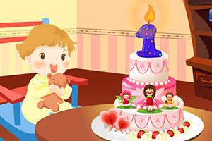 《宝宝一岁啦》游戏画面1