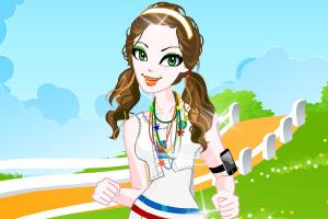 《晨跑的女孩》游戏画面1