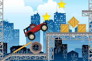《城郊越野吉普车无敌版》游戏画面1