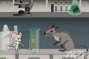 《女白鼠逃离实验室》游戏画面2
