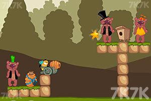 《小蜜蜂复仇记》游戏画面2