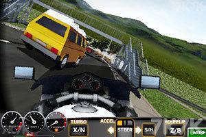 《3D暴风摩托》游戏画面4