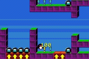 《企鹅的冬季冒险》游戏画面1