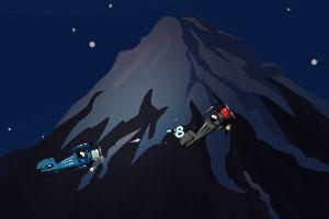 《企鹅飞行战斗》游戏画面1
