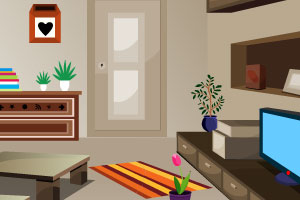 《休息大客厅逃脱》游戏画面1