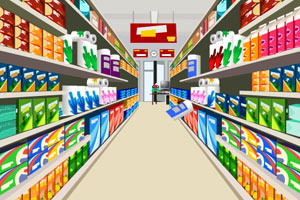现代超市逃脱