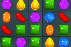 《candy crush》游戏画面1