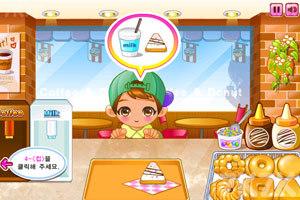 《可爱甜甜圈小店》游戏画面3