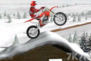 《冰山雪地摩托车》游戏画面10