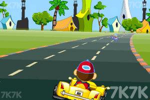 《卡通跑车计时赛》游戏画面7