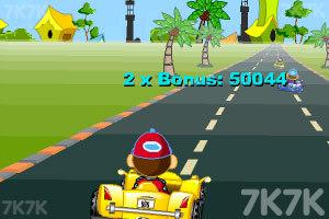 《卡通跑车计时赛》游戏画面9